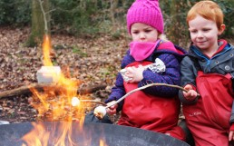 Campfire Cooking at our Forest School